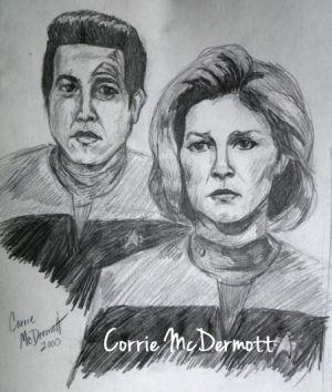 Janeway & Chakotay