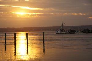 Sunset at Westport Harbor